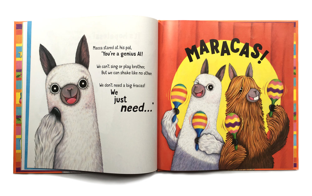 alpacas with maracas - photo #17